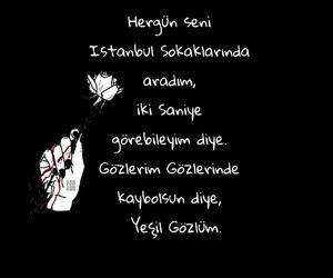 black white, istanbul, and sözler image
