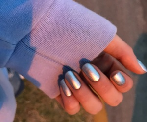 cool, silver, and girly image