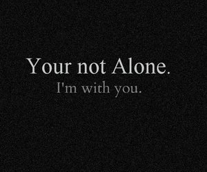alone, sad, and with you image