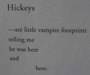 hickey, love, and vampire image