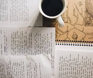 coffee, journaling, and writing image