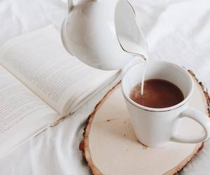 blankets, white, and coffee image