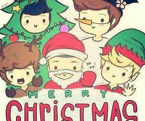christmas, fan art, and niall image