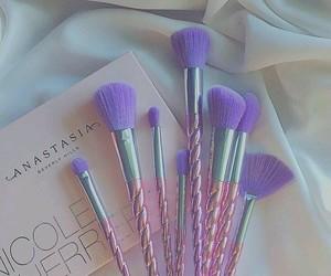 Brushes, make up, and anastasia image