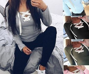 iphone, sweater, and leggings image