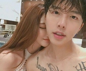 ulzzang, couple, and korean image