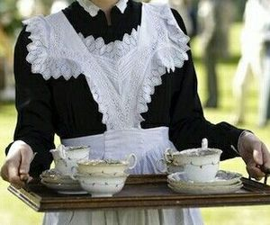tea, aesthetic, and maid image