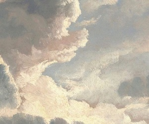 clouds, art, and painting image