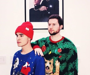 christmas, sweater, and jc caylen image