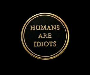 aesthetic, quotes, and idiots image