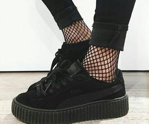 black, shoes, and puma image
