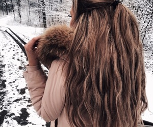 hair, goals, and girl image