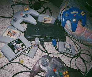 grunge, 90s, and games image