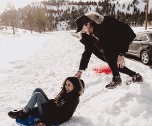 adventure, snow, and winter image