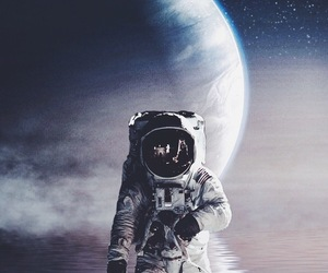 astronaut and space image
