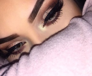 beauty, gorgeous, and eyeshadow image