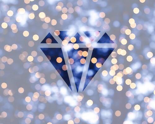 light, christmas, and diamond image