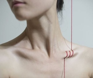 ana, collarbones, and pale image