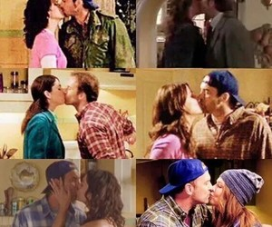 gilmore girls, kiss, and serie image