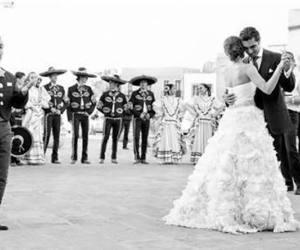 mariachi, love, and wedding image