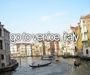 venice, italy, and before i die image