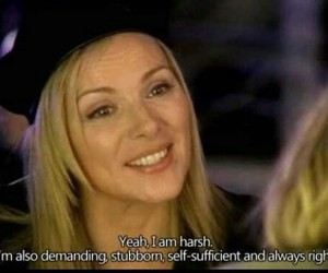 quotes, sex and the city, and samantha jones image