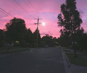 pink, sky, and purple image