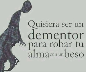 frases, harry potter, and kisses image