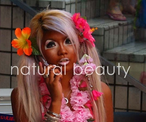 beauty, flowers, and girl image