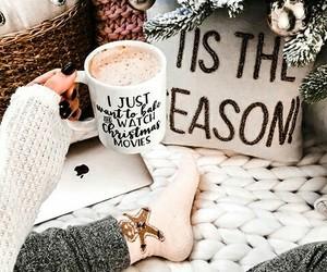 winter, holiday, and christmas image