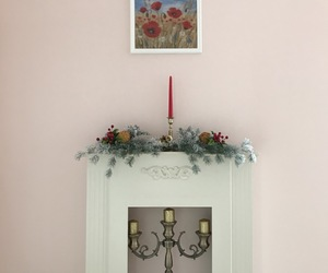 christmas, interior, and apartment image
