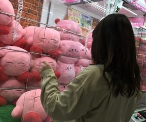 girl, カービィ, and pink image