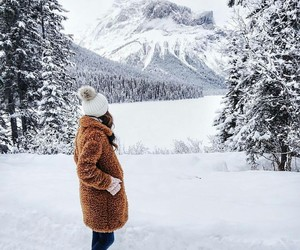 snow, winter, and photography image
