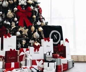 cartier, chanel, and christmas tree image