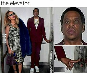 beyonce knowles, funny, and jay image