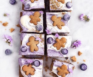 blueberry, gingerbread, and cake image