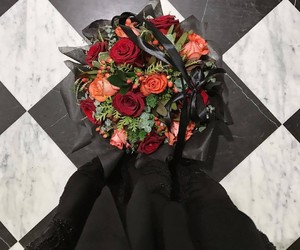 Best, black, and roses image