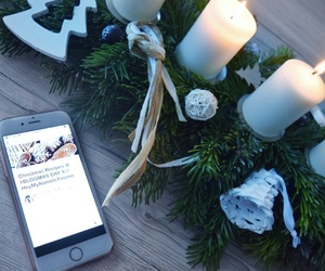 advent, iphone, and weheartit image