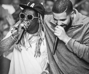 Drake and lil wayne image