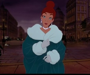 anastasia, disney, and fashion image