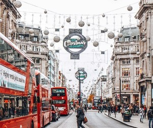 christmas, city, and london image