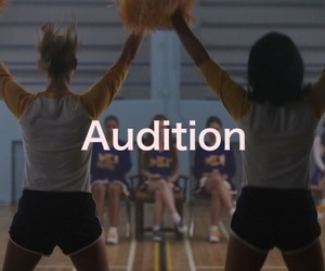 audition, Betty, and cheerleader image