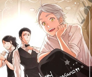 haikyuu and sugawara image