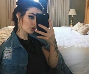 boy, tattoo, and woman image