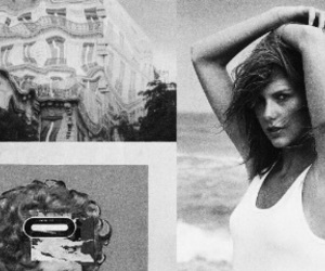 black and white, Collage, and header image