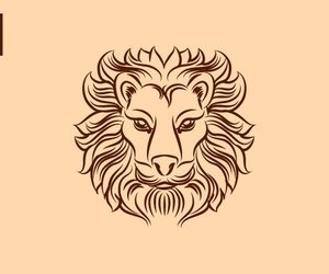 Leo and zodiac sign image