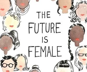 feminism, female, and feminist image
