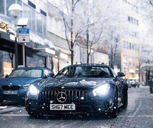 black, luxury, and mercedes benz image