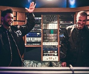 music, starboy, and the weeknd image