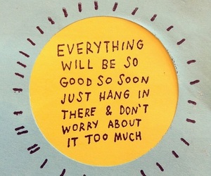 quotes, yellow, and sun image